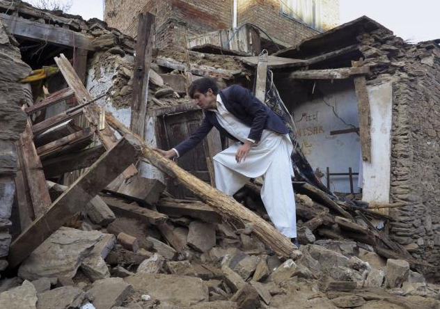 Earthquake jolts Pakistan and Afghanistan