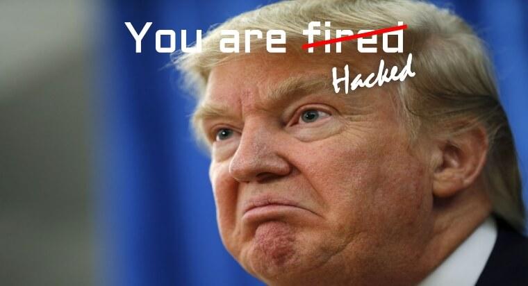 Donald Trump's Website Is Hacked
