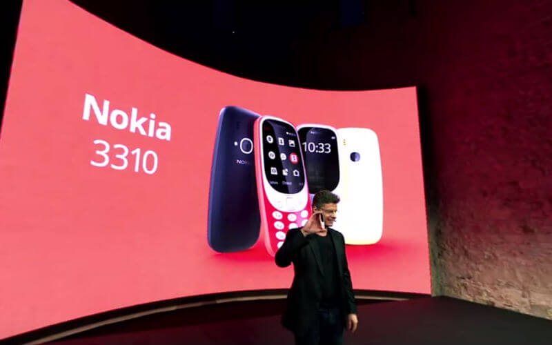 With Camera & Colored Screen Nokia 3310 Is Back