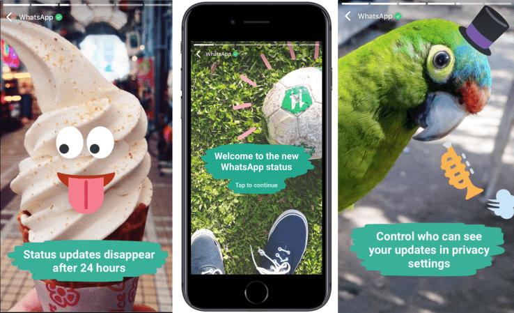 WhatsApp New Status Update Is Similar To Snapchat Stories