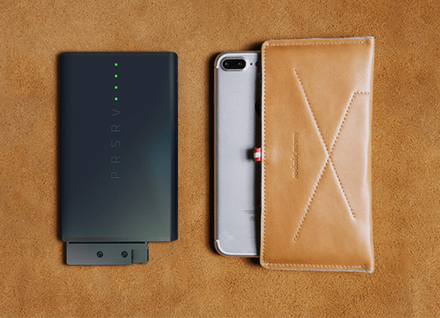 Power Bank That Fits Inside Your Wallet – PRSRV