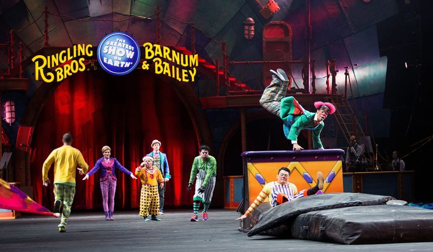 Ringling Brothers circus stages final show