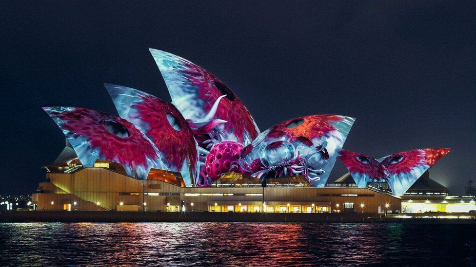 Imaginary creatures to light up Sydney Opera House