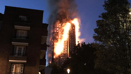 London fire: Lives claimed at Grenfell Tower