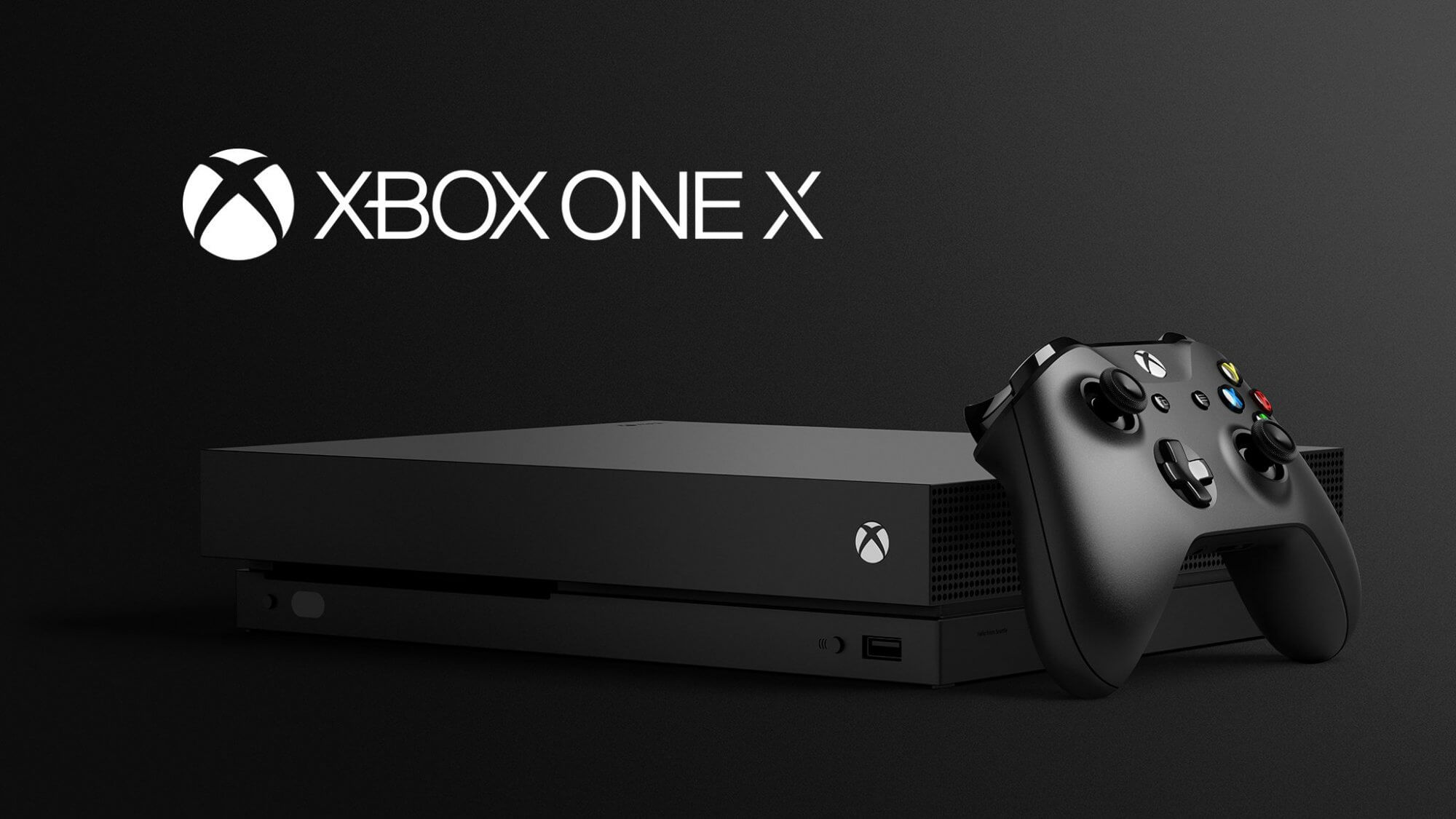 Microsoft unveils the $499 Xbox One X