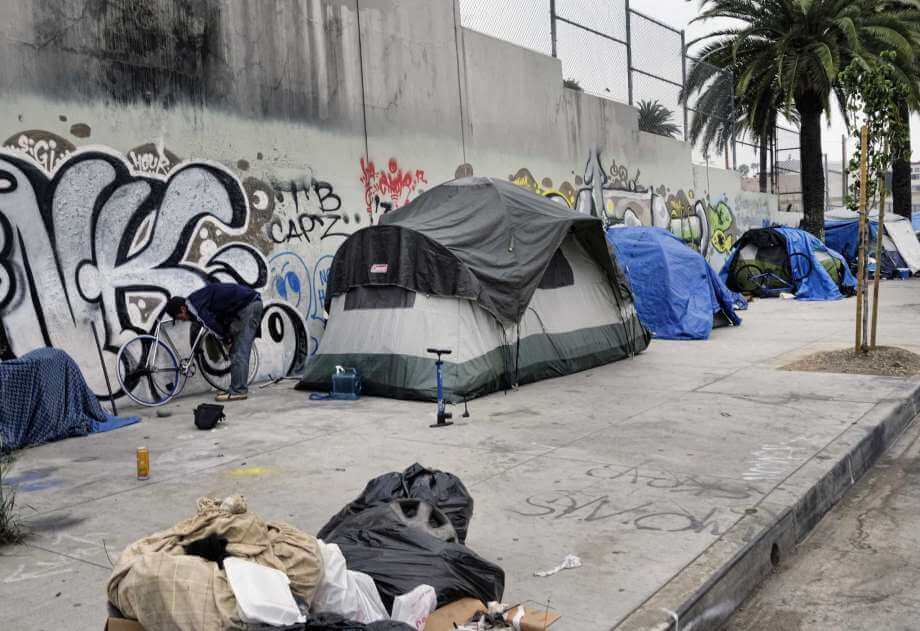 Los Angeles homeless numbers jump 23% in a year