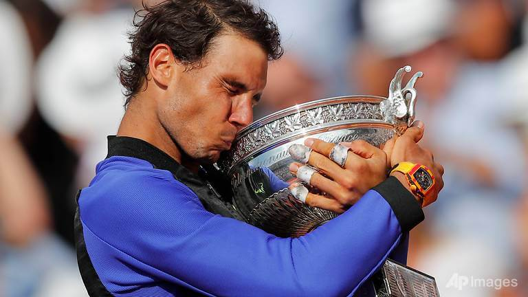 Nadal wins record-breaking 10th French Open
